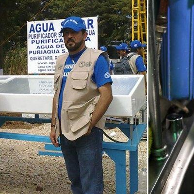 #OrgulloMexicano: Científico puede ayudar a millones con purificador de agua con luz solar
