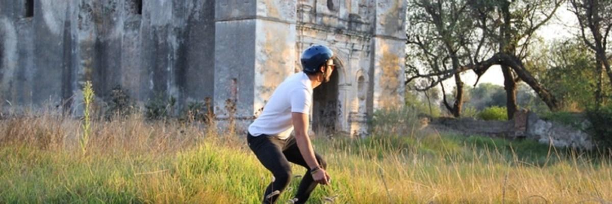 #TezcaBoard: Ingenio mexicano convertido en patineta eléctrica todo terreno