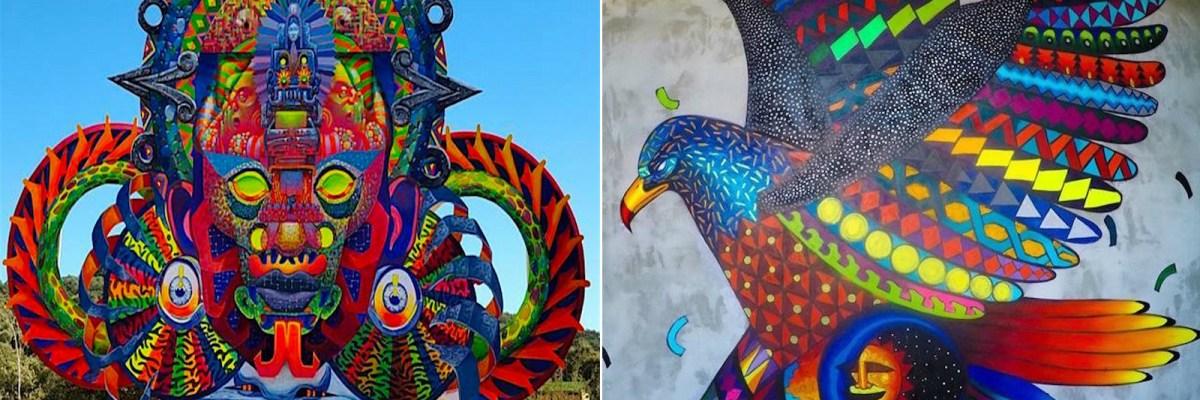 #GrafitiMex: Esta dupla del grafiti hace que el mundo se enamore de México