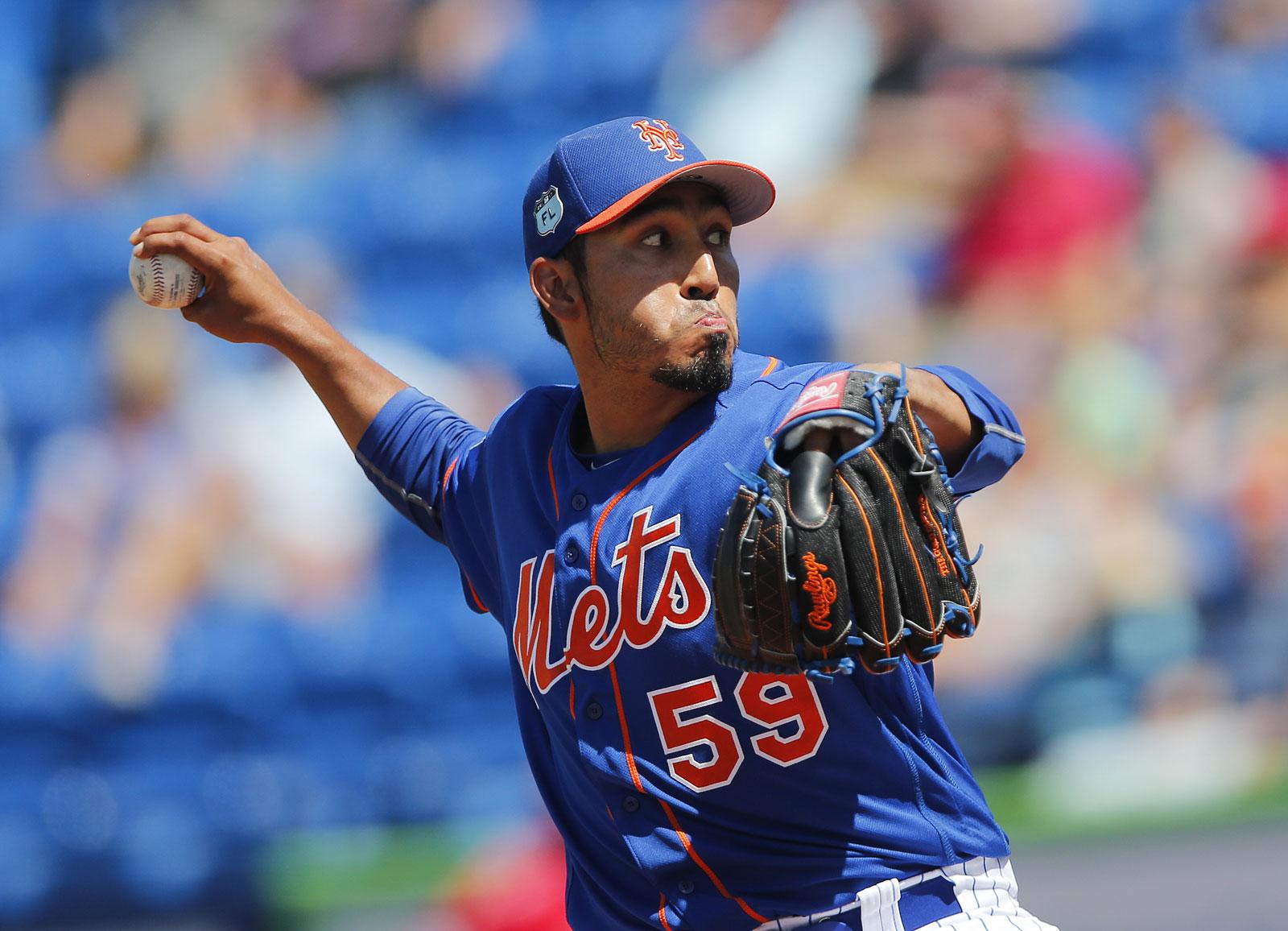 Fernando Salas, pitcher de los Mets de Nueva York