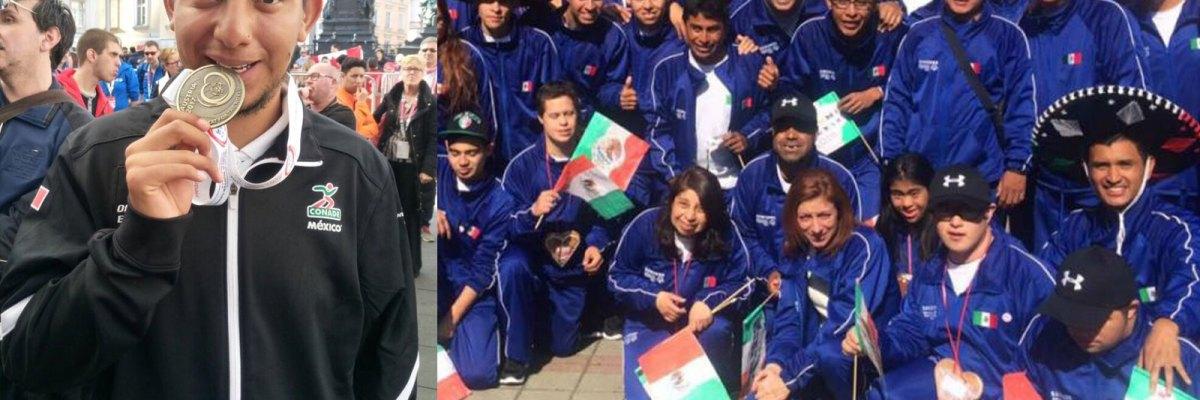 #VivaMéxicoCampeones: Suman mexicanos ocho medallas en las Olimpiadas Especiales