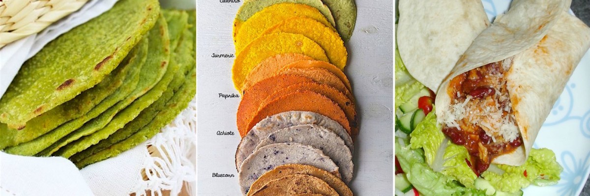Variedades de tortillas.