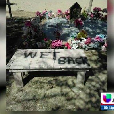 Vandalizan tumbas de campesinos inmigrantes