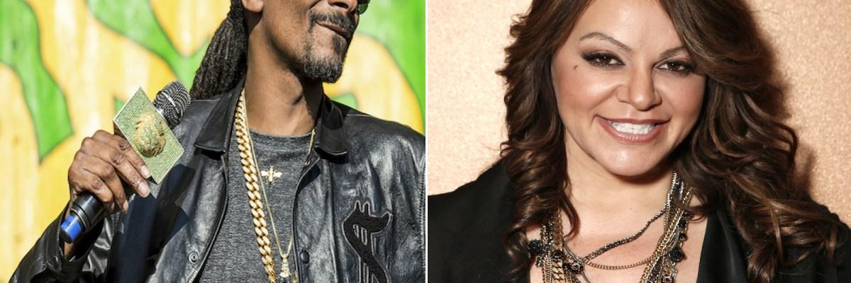 Jenni y Snoop Dogg