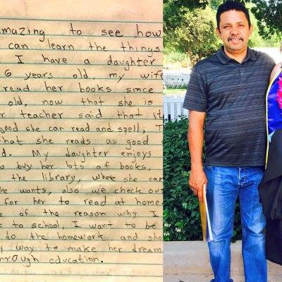 #Viral: La carta que un mexicano le escribió a su hija hace 17 años es conmovedora
