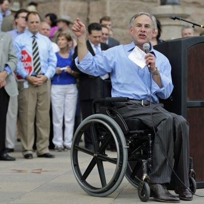 Greg Abbott, gobernador de Texas