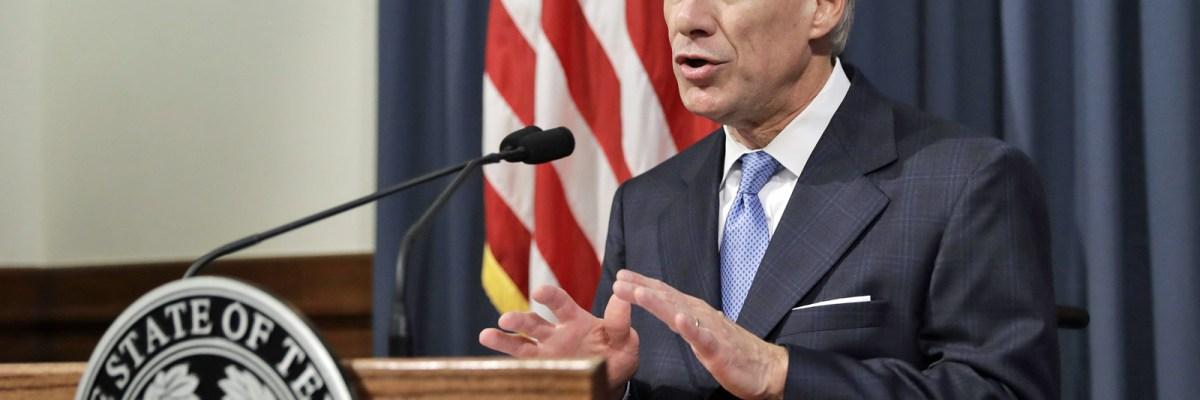 Greg Abbott aprobó la ley antiinmigrante sb4