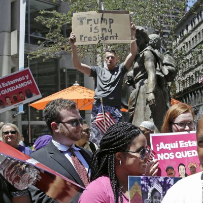 #HereToStay: Boston, unido y bello contra Trump y sus locuras antiinmigrantes