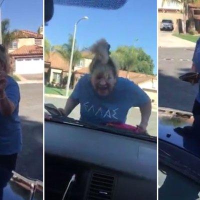 """#LadyHorrenda: Mujer racista """"arresta"""" a dos jóvenes mexicanos y les pide sus papeles"""