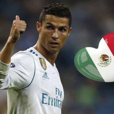 #Campeón: El emotivo mensaje de apoyo de Cristiano Ronaldo a México