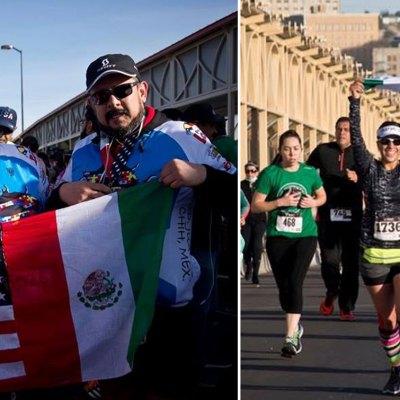 #Campeones: 1,200 estadounidenses y mexicanos unieron a sus países con la carrera U.S. - México 10K