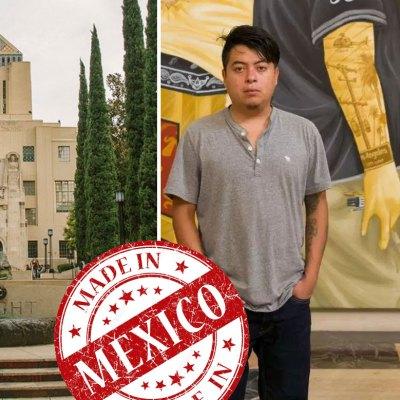 #OrgulloOaxaqueño: Indígenas zapotecas fueron seleccionados para redecorar la Biblioteca Central de L.A.