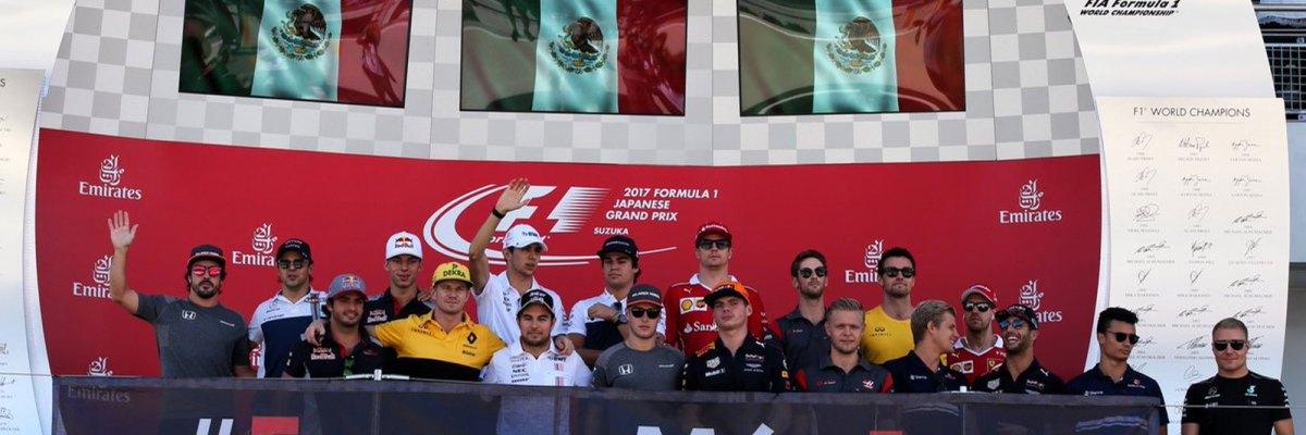 #FuerzaMéx1co: Desde el otro lado del mundo, los pilotos de la F1 abrazan a México
