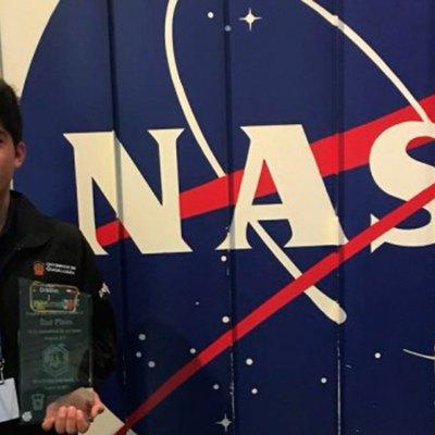 Jonathan Cristhan Sánchez Pérez ganó premio de la NASA