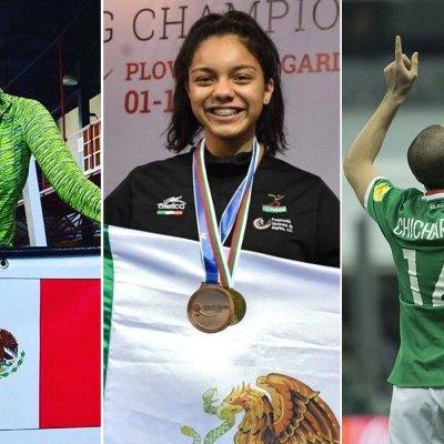 #VivaMéxicoCampeones: Reconocen a los deportistas mexicanos que se la rifaron este año