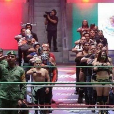 #Héroes: Entre mariachi y lucha libre, el Ejército recibió un homenaje por sus hazañas tras los sismos ocurridos en México