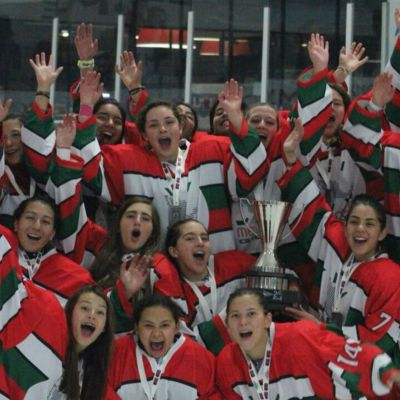 Selección femenil hockey sobre hielo