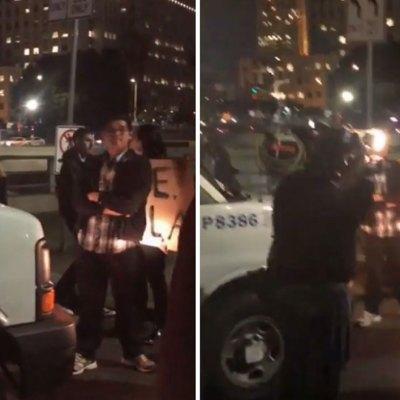 """#YaEstuvoSuave: Hartos de las redadas, vecinos de Los Ángeles bloquean van de """"La Migra"""""""