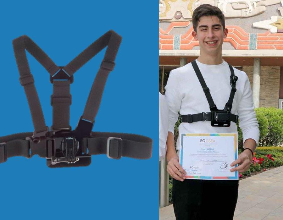 #Genio: A sus 15 años lleva a Silicon Valley un invento que cambiará la vida de los ciegos