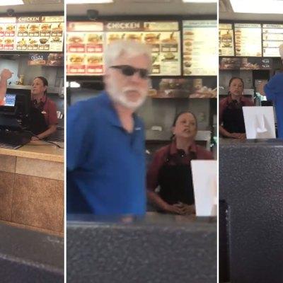 #Miserable: Racista amenaza a empleada con deportarla por no darle una hamburguesa gratis