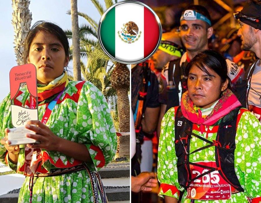 #Campeona: La rarámuri Lorena Ramírez gana medalla en ultramaratón de España