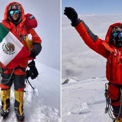 Viridiana Álvarez hace historia al conquistar la cima del K2