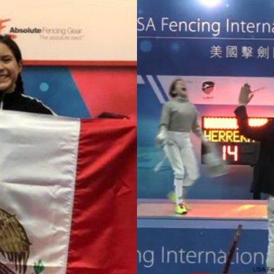 La niña mexicana que triunfa en el esgrima sin apoyo de autoridades deportivas