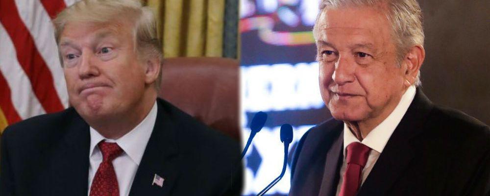Donald Trump ataca a México; AMLO responde y le manda un consejo