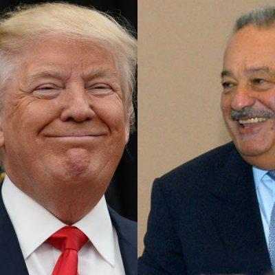 Donald Trump habría ayudado a Carlos Slim en uno de sus negocios