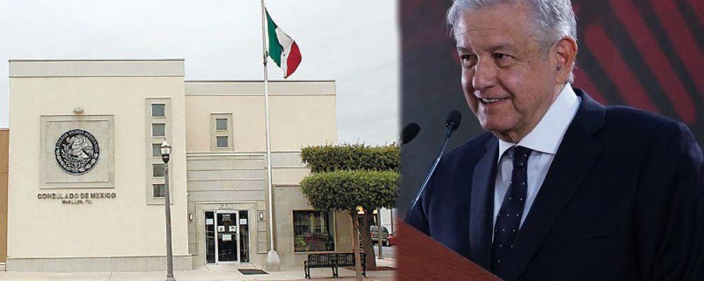 AMLO anuncia limpia en los consulados mexicanos en Estados Unidos