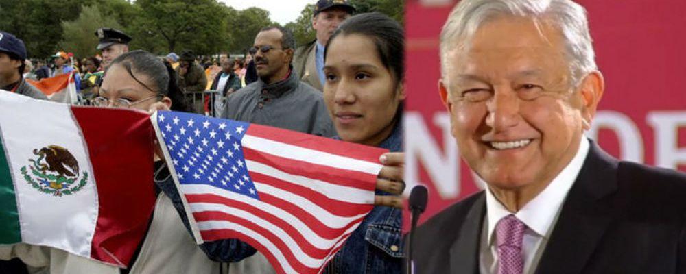 A 100 días de gobierno, esto hará AMLO con los mexicanos que viven en el exterior