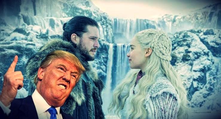 Donald Trump se burla de detractores con mensaje estilo Game Of Thrones