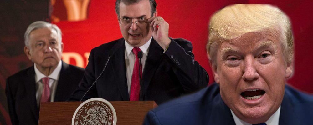 El mensaje de Marcelo Ebrard que hará enojar a Donald Trump