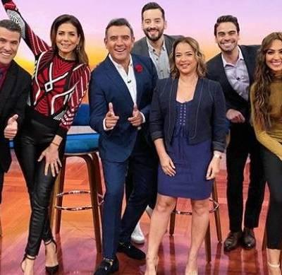 Los conductores de TV hispanos que son exitosos en EUA