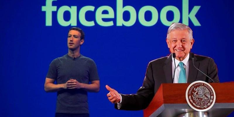 Zuckerberg sería el encargado de dar internet a todo México; platicó con AMLO