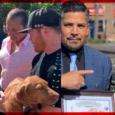 """#AhPerro: Saúl """"Canelo"""" Álvarez presume su perro de más de 150 mil dólares (VIDEO)"""