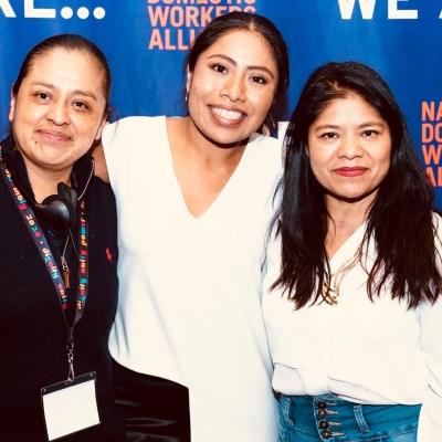 #Orgullo: Yalitza Aparicio llega al Congreso de EUA a pelear por los derechos de las mujeres