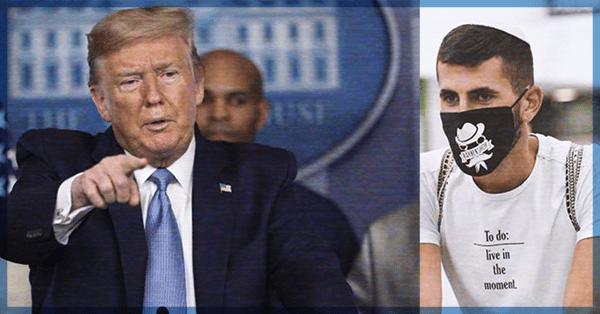 Donald Trump señala estar enojado con China por el tema de la pandemia de Covid-19