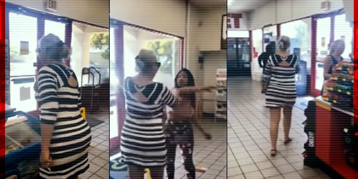 Mujer racista recibe bofetada tras discriminar a compradora latina
