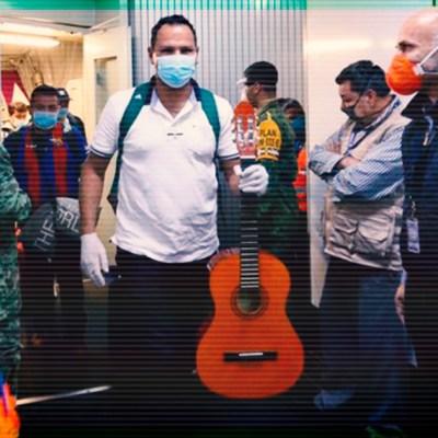 Regresa otro grupo de mexicanos repatriados del extranjero