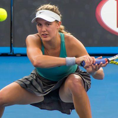 Eugénie Bouchard, la tenista que ya no quiere ser famosa por sus fotos en bikini