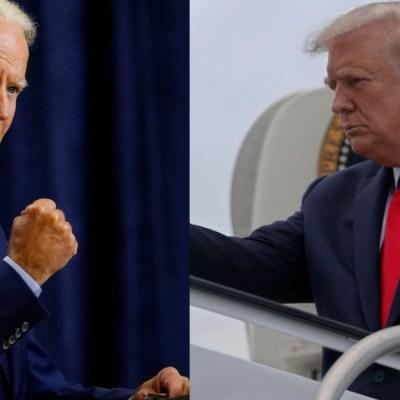 Aún sin la aprobación de los latinos, Biden aventaja a Trump, según encuestas