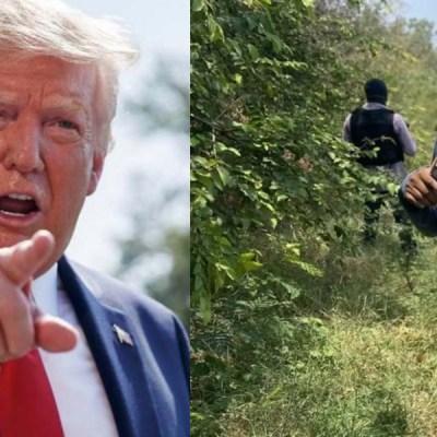 Insiste Trump que México no hace suficiente en contra de cárteles