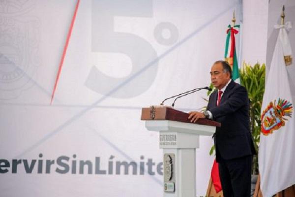 Gobernador de Guerrero rinde su Quinto Informe de Gobierno