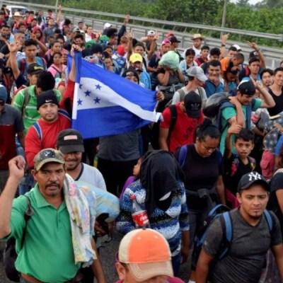Una nueva caravana con más de 3 mil migrantes sale de centroamérica con destino a EU