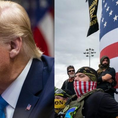 Trump dice ahora que no conoce a grupo supremacista tras lanzarle advertencia