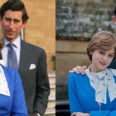"Así luce Emma Corrin como ""Lady Di"" en la cuarta temporada de ""The Crown"" de Netflix"