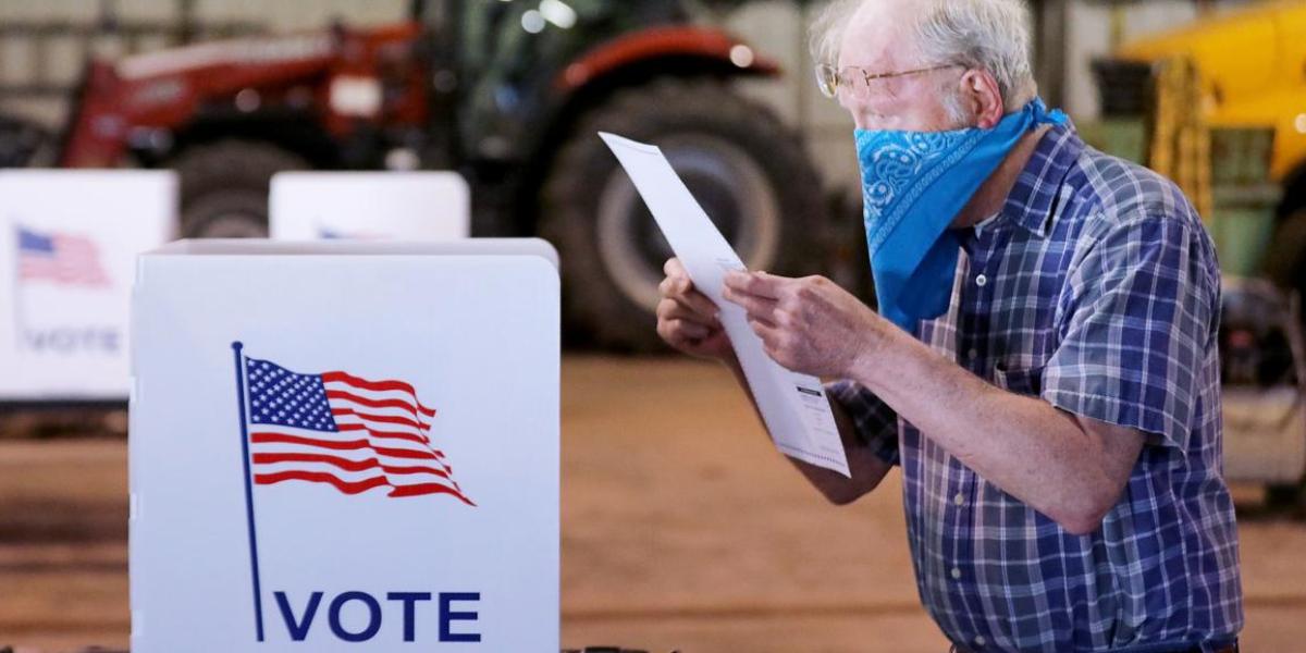 Comienzan su apertura los centros de votación en EU