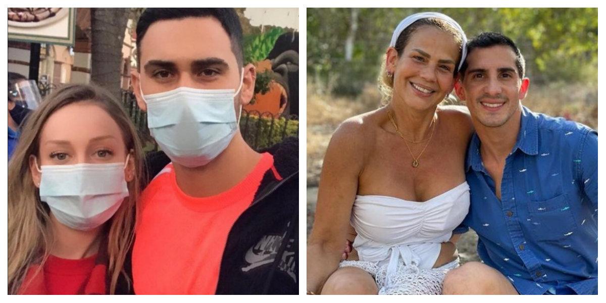 Famosos que vacacionaron en México en plena pandemia