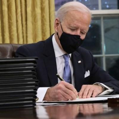 Biden cancela el muro fronterizo de Trump y ordena proteger a 'dreamers'